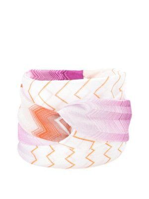 Missoni: hair accessories - Stretch knitted snood