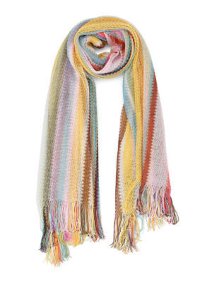 Missoni: scarves - Multicolour glowing light scarf