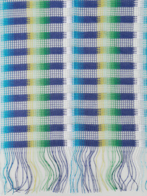 Missoni: scarves online - Check viscose mesh scarf