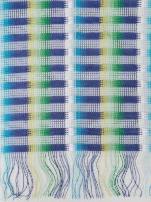 Missoni: scarves online - Check viscose mesh scarf