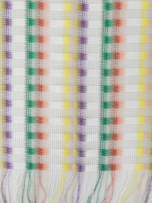 Missoni: scarves online - Chequered mesh scarf