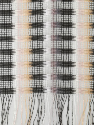 Missoni: scarves online - Chequered viscose mesh scarf