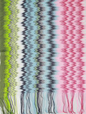 Missoni: scarves online - Chevron pattern viscose scarf