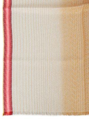 Missoni: scarves online - Gold cotton blend shimmering scarf