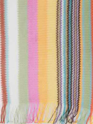 Missoni: scarves online - Multicolour glowing light scarf