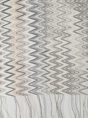 Missoni: scarves online - See-through two-tone chevron scarf