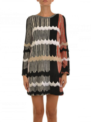 Missoni: short dresses online - Patterned silk jersey dress