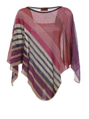 Missoni: Stoles & Shawls - Asymmetrical lightweight poncho