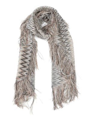 Missoni: Stoles & Shawls - Chevron see-through shawl