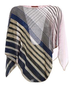 Missoni: Stoles & Shawls - Lightweight asymmetrical poncho