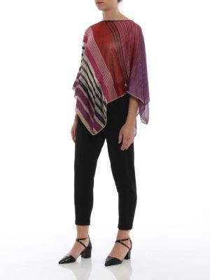 Missoni: Stoles & Shawls online - Asymmetrical lightweight poncho