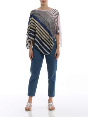 Missoni: Stoles & Shawls online - Lightweight asymmetrical poncho