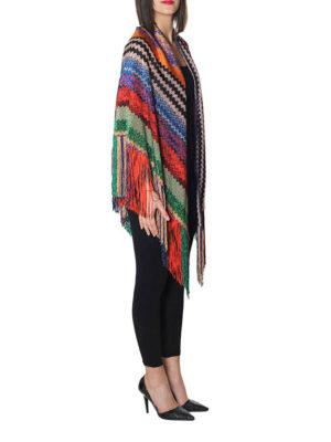 Missoni: Stoles & Shawls online - Multicolour pattern lurex shawl