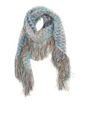 Missoni: Stoles & Shawls - See-through multicolour shawl