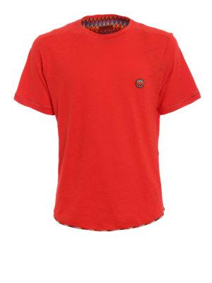 Missoni: t-shirts - Multicolour patch T-shirt