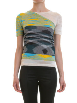 Missoni: t-shirts online - Multi-layer effect T-shirt