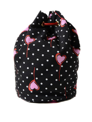 Miu Miu: Cases & Covers online - Polka dot pouch with hearts