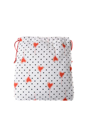 Miu Miu: Cases & Covers online - Polka dot pouch with printed hearts