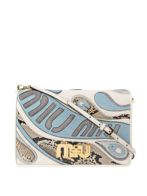 Miu Miu: clutches - My Miu leather clutch