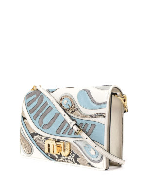 Miu Miu: clutches online - My Miu leather clutch
