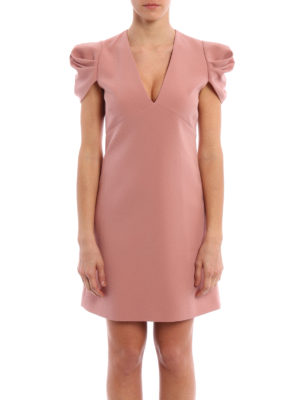 Miu Miu: cocktail dresses online - Faille cady short A-line dress
