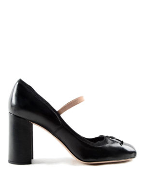 Miu Miu: court shoes - Nappa leather pumps