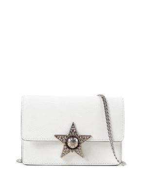 Miu Miu: cross body bags - Jewel star crossbody