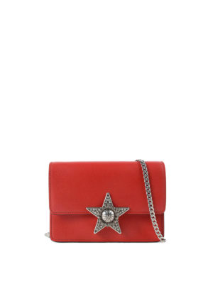Miu Miu: cross body bags - Jewel star crossbody