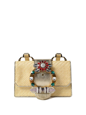 Miu Miu: cross body bags - Miu Lady jewel cross body bag