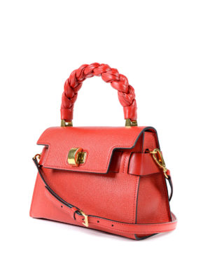 Miu Miu: cross body bags online - Madras leather handbag