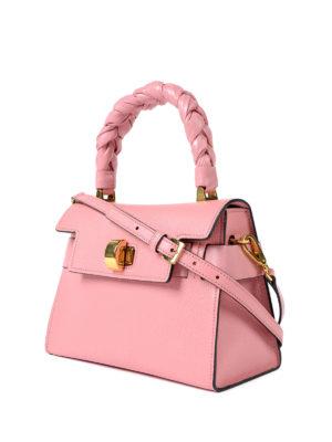 Miu Miu: cross body bags online - Madras leather structured handbag