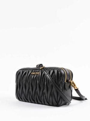 Miu Miu: cross body bags online - Matelassé leather cross body bag