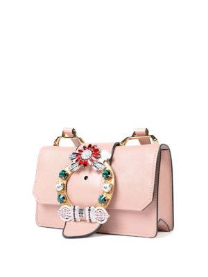 Miu Miu: cross body bags online - Miu Lady Bag jewel cross body bag