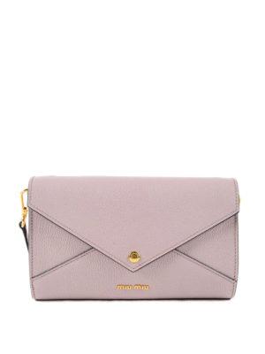 Miu Miu: shoulder bags - Jewel leather bag