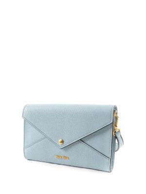 Miu Miu: shoulder bags online - Jewel leather bag