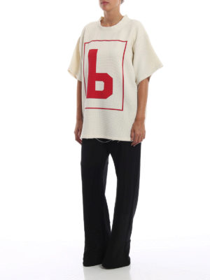 MM6 MAISON MARGIELA: pantaloni casual online - Pantaloni in jersey patchwork neri