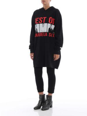 MM6 MAISON MARGIELA: abiti corti online - Abito T-shirt con stampa fotografie