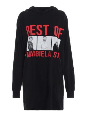 MM6 MAISON MARGIELA: abiti corti - Abito T-shirt con stampa fotografie