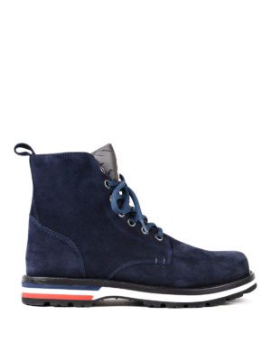 Moncler: ankle boots - New Vancouver suede ankle boots