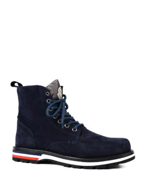Moncler: ankle boots online - New Vancouver suede ankle boots