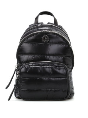 Moncler: backpacks - Kilia glossy nylon padded backpack