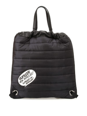 Moncler: backpacks - Kinly GM nylon backpack