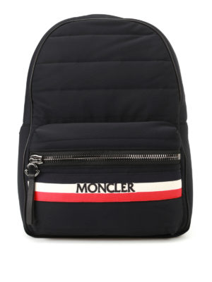 Moncler: backpacks - New George black nylon backpack