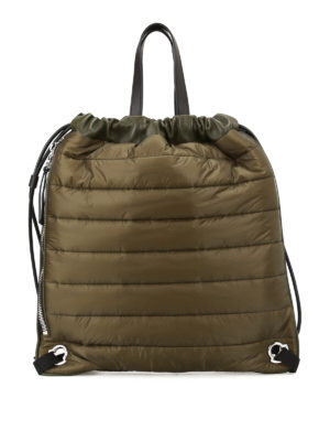 Moncler: backpacks - New Kinly nylon backpack