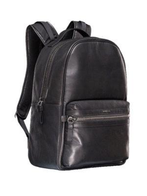 Moncler: backpacks online - George leather backpack