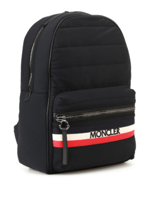 Moncler: backpacks online - New George black nylon backpack