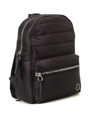 Moncler: backpacks online - New George black nylon backpack