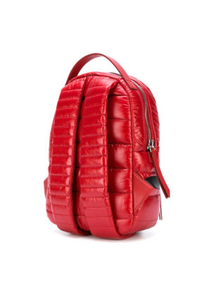 Moncler: backpacks online - New Georgette red nylon backpack