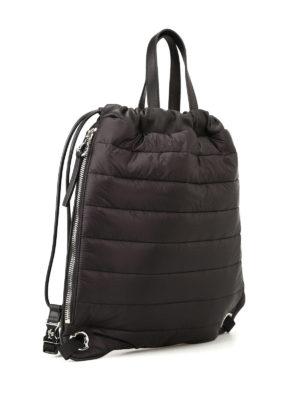 Moncler: backpacks online - New Kinly black nylon backpack
