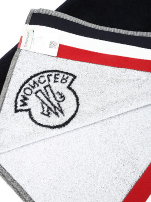 Moncler: beach accessories online - Cotton beach towel